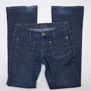 Michael Kors Straight Leg jeans with patch pockets
